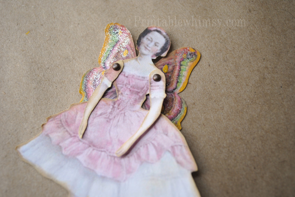 fairy butterfly paper doll