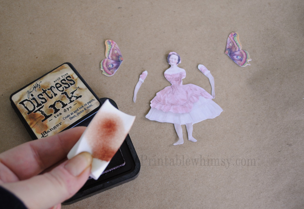 DIY printable Paper Dolls