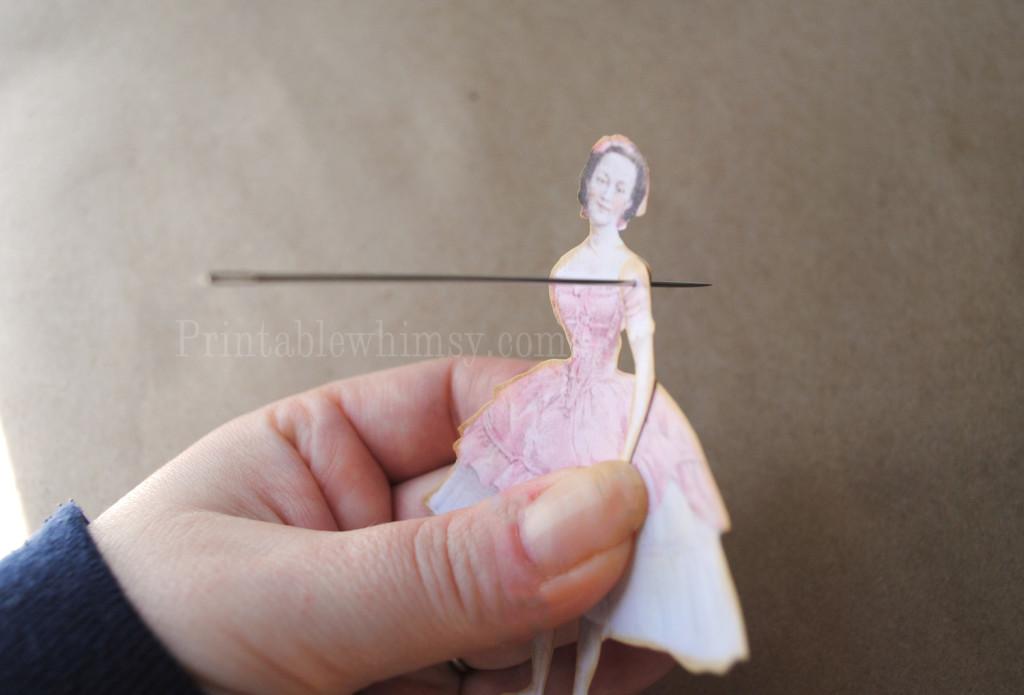 diy paper doll