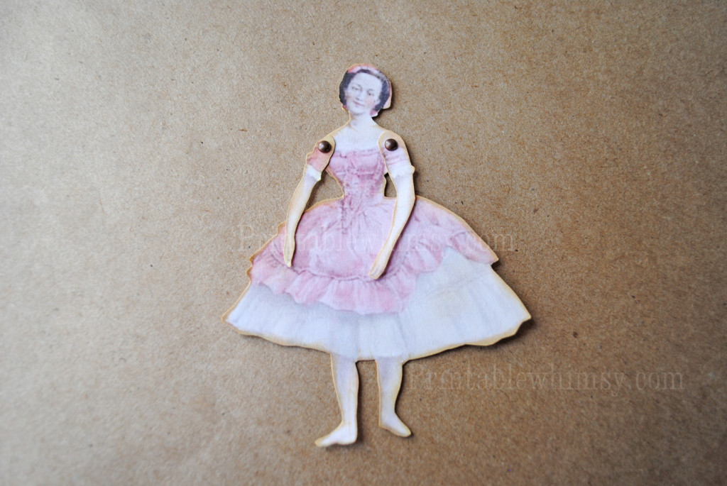 articulated paper doll